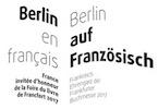 Berlin en Français