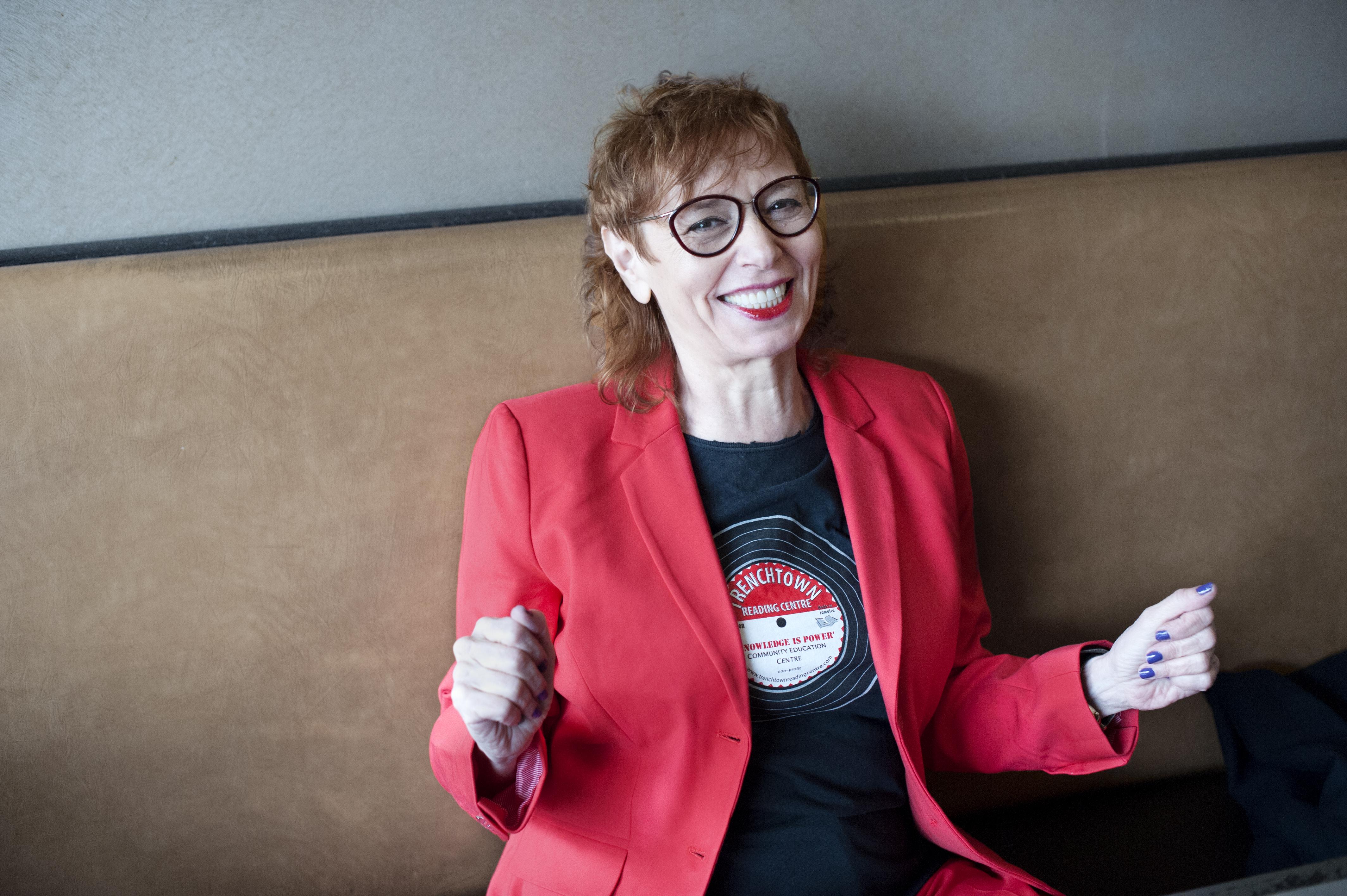 Vivien Goldman gibt am Freitag im Panda Theater ein Konzert.