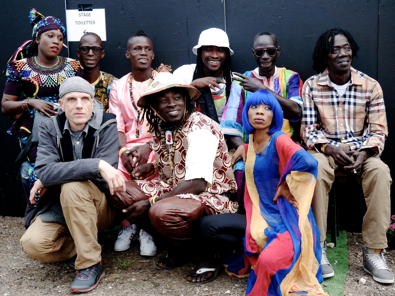 Mark Ernestus' Ndagga Rhythm Force spielt am Mittwoch im Palais westafrikanische Musik.