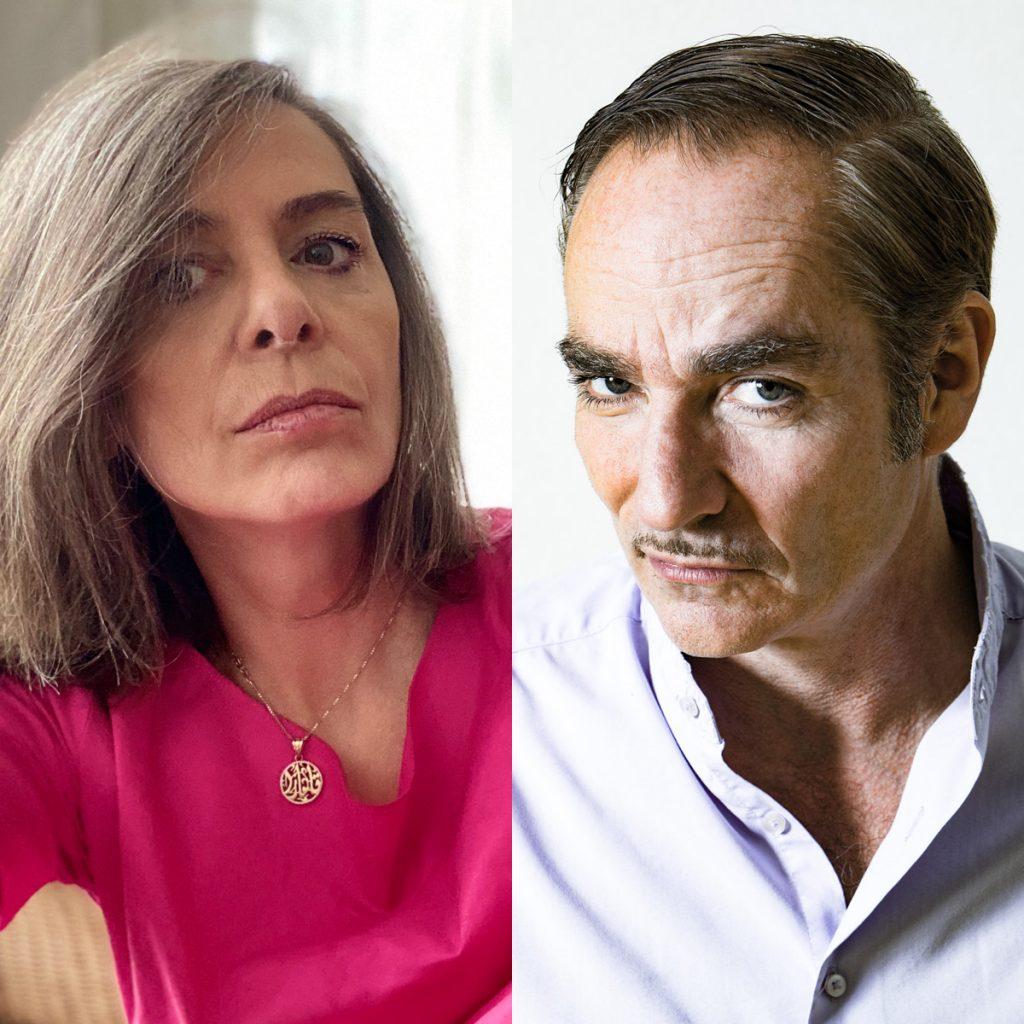 Claudia Basrawi (Photo: Claudia Basrawi) & Ted Gaier (Foto: Frank Egel)