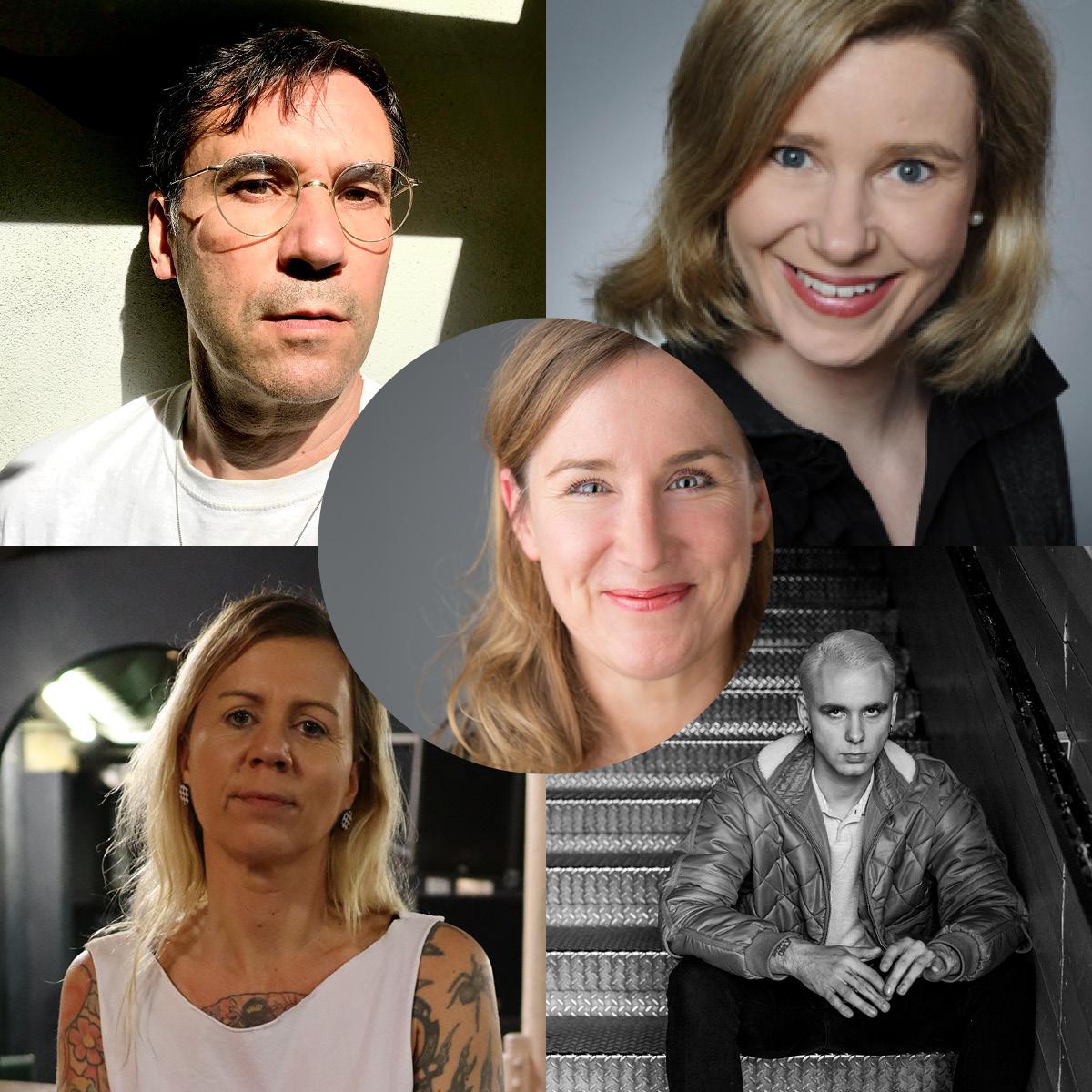 Dr. Nicole Bührsch, Wieland Krämer, Milena Fessmann, Max Gruber & Pamela Schobeß
