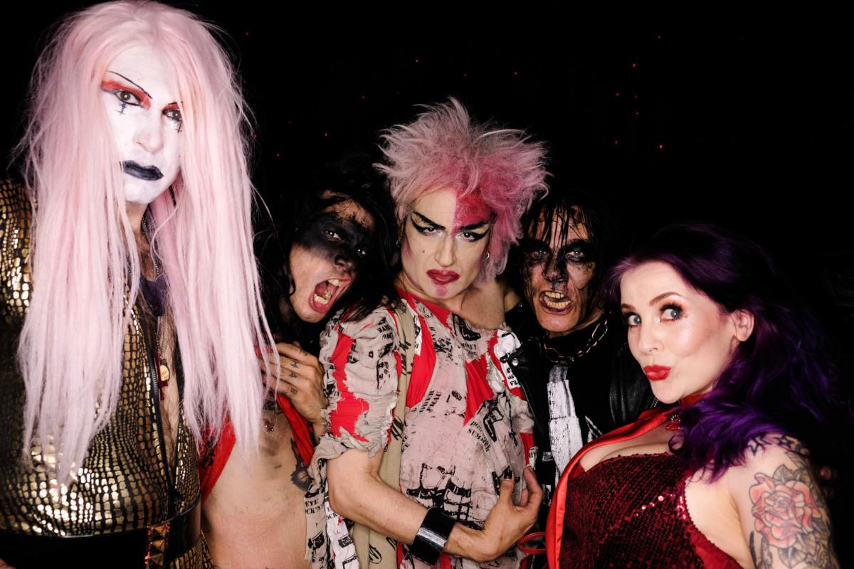 Eat Lipstick, Kris Sinister & Betty Dynamite (Foto: Sebastian Oskar Kroll)
