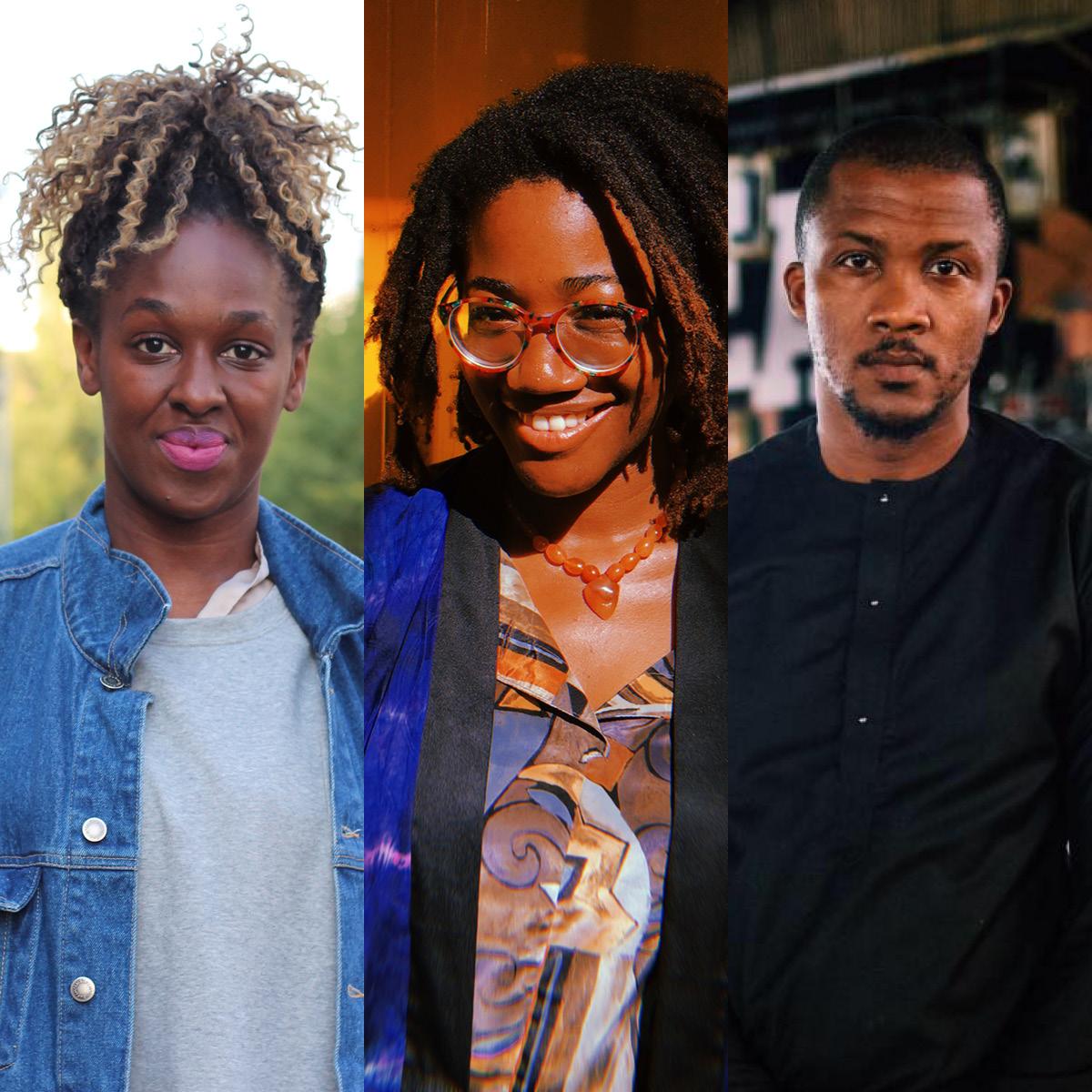 Pamela Owusu-Brenyah (Foto Frank Joung), Jumoke Adeyanju (Foto Ugochukwu Emebiriodo) & Wale Davies