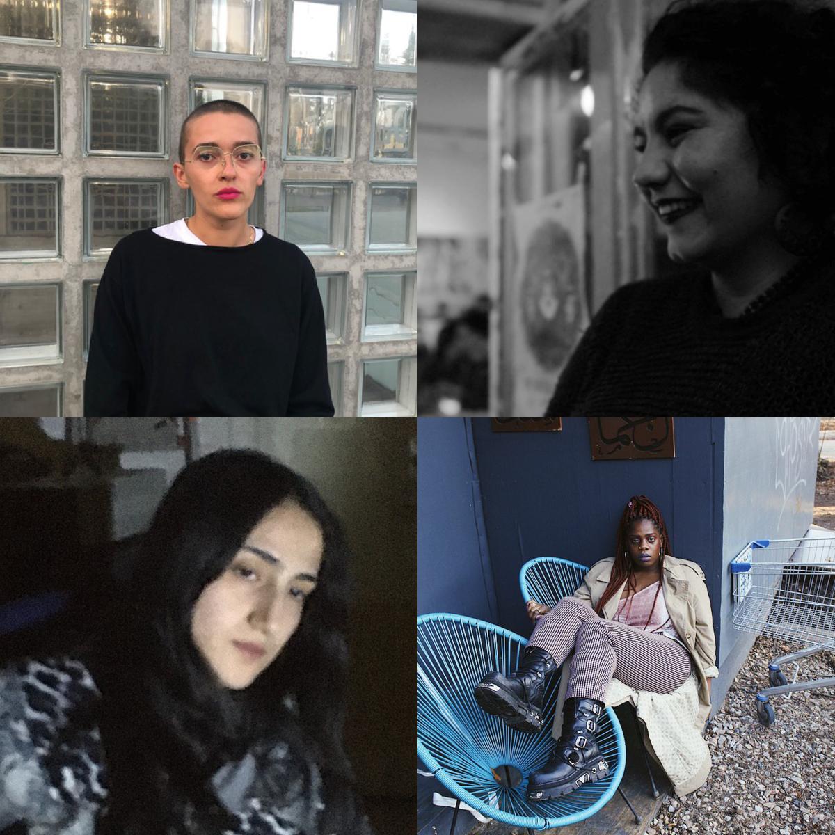 Azadê Peşmen, Enis Maci, Jesseline Preach & Leyla Yenirce