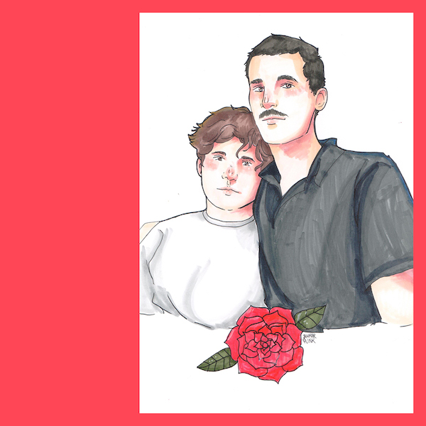 The Düsseldorf Düsterboys (Illustration: Jammerpunk)