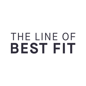 The Line of Best Fit Logo