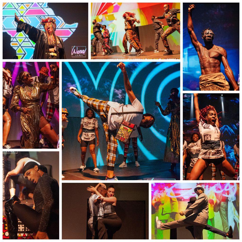 Bilder vom Musical »Wena! J.A.M.E.« (Photos: Freak de l'Afrique)