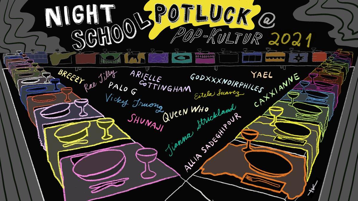 Night School Berlin (Artwork: Yoko Kikuchi)